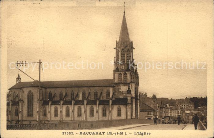 Baccarat Eglise Kat. Baccarat