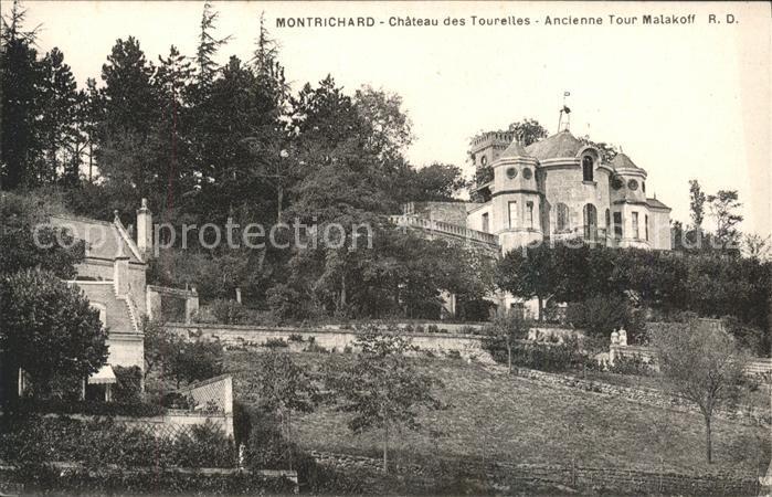Montrichard Chateau des Tourelles Ancienne Tour Malakoff Kat. Montrichard