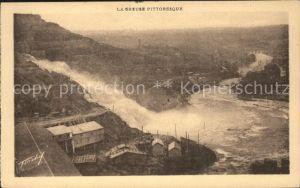Eguzon Chantome Barrage vers le Pont des Piles Serie La Creuse pittoresque Kat. Eguzon Chantome