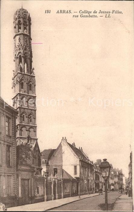 Arras Pas de Calais College de Jeunes Filles Kat. Arras