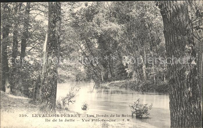 Levallois Perret Aux bords de la Seine Ile de la Jatte Kat. Levallois Perret
