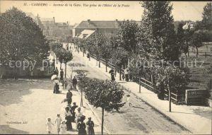 Cabourg Avenue de la Gare vue prise de l Hotel de la Poste Kat. Cabourg
