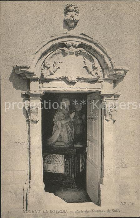 Nogent le Rotrou Porte du Tombeau de Sully Kat. Nogent le Rotrou