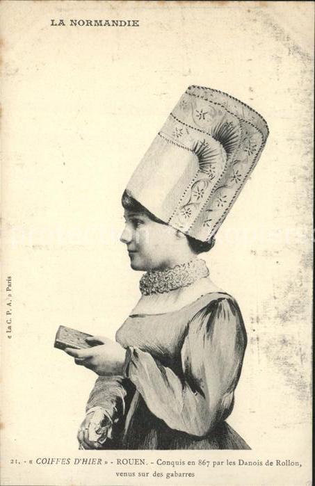 Rouen Coiffes d hier Types et Costumes Normands Kat. Rouen