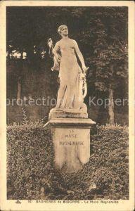 Bagneres de Bigorre La Muse Bagneraise Statue Monument Kat. Bagneres de Bigorre