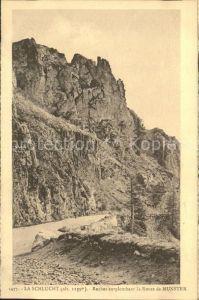 La Schlucht Roches surplombant la Route de Munster Kat. Gerardmer