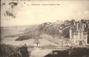 Granville Manche Vue panoramique du Moulin a Vent Kat. Granville