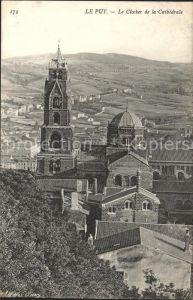Le Puy en Velay Le Clocher de la Cathedrale Kat. Le Puy en Velay