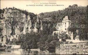 La Roque Gageac Chateau de la Malartrie Kat. La Roque Gageac
