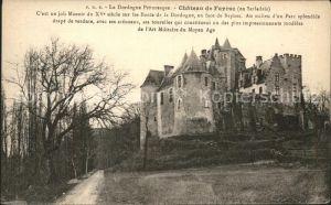 Castelnaud la Chapelle Chateau de Fayrac Kat. Castelnaud la Chapelle