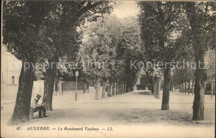 Auxerre Le Boulevard Vauban Kat. Auxerre