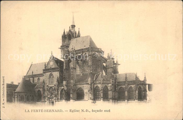 La Ferte Bernard Eglise Notre Dame Kat. La Ferte Bernard