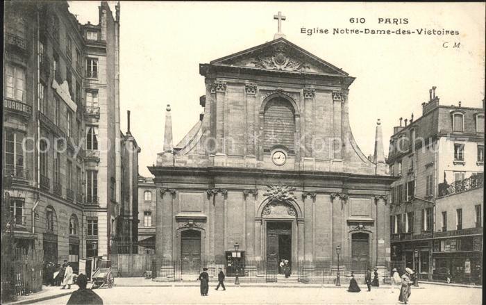 Paris Eglise Notre Dame des Victoires Kat. Paris