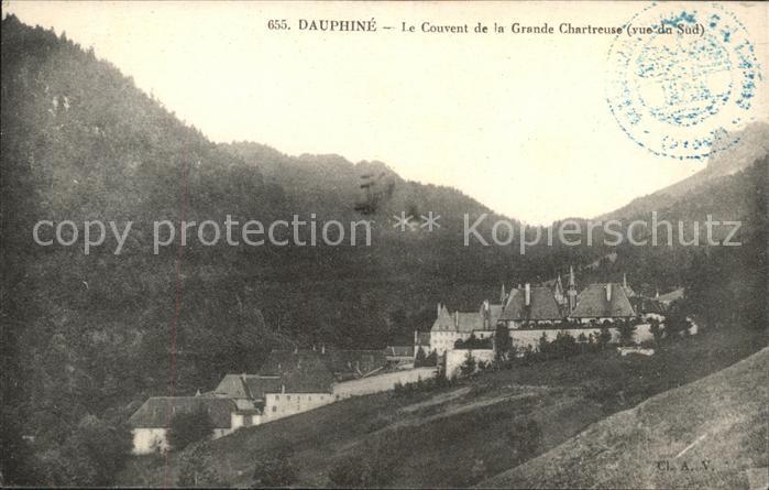 Saint Pierre de Chartreuse Isere Couvent de la Grande Chartreuse Kat. Saint Pierre de Chartreuse