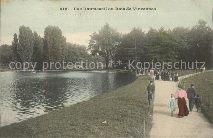 Vincennes Lac Daumesnil au Bois de Vincennes Kat. Vincennes