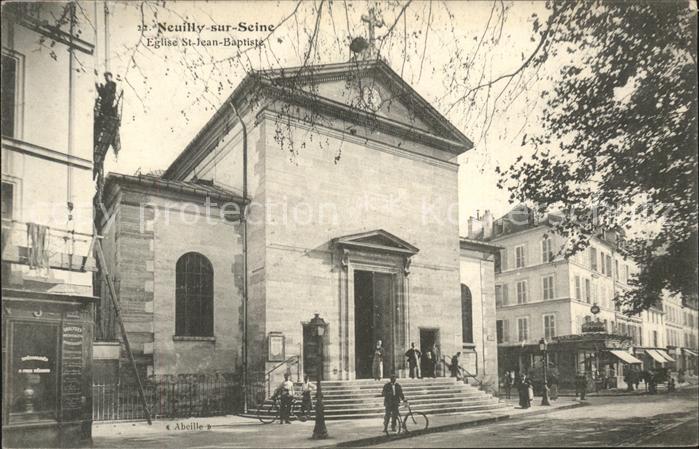 Neuilly sur Seine Eglise Saint Jean Baptiste Kat. Neuilly sur Seine