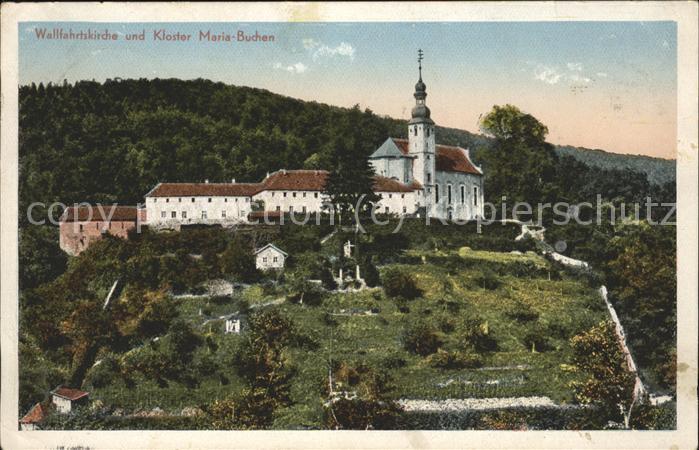 Maria Buchen Kloster Kat. Lohr a.Main
