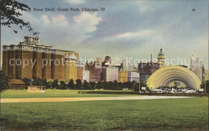 Chicago Park Band Shell Grant Park Kat. Chicago Park