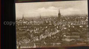 Hildesheim Blick ueber die Stadt / Hildesheim /Hildesheim LKR