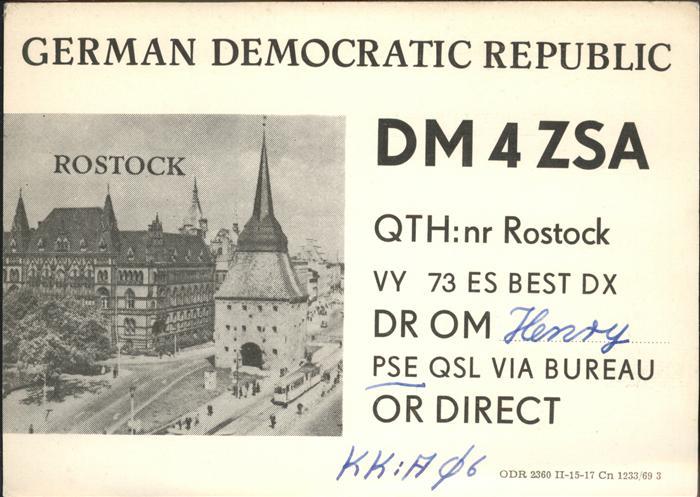 Rostock Rostock  Kat. Rostock