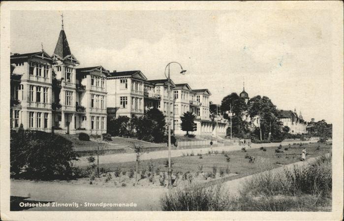 Zinnowitz Ostseebad Strandpromenade Kat. Zinnowitz