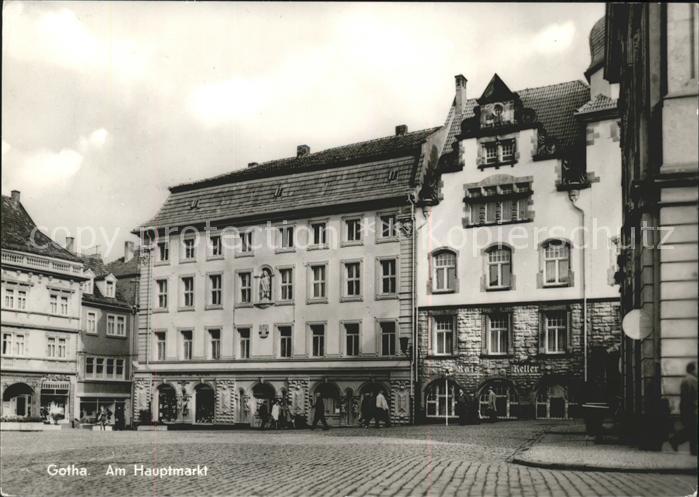 Gotha Thueringen Am Hauptmarkt / Gotha /Gotha LKR