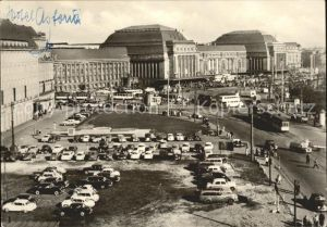 Leipzig Hauptbahnhof und Hotel Astoria Kat. Leipzig