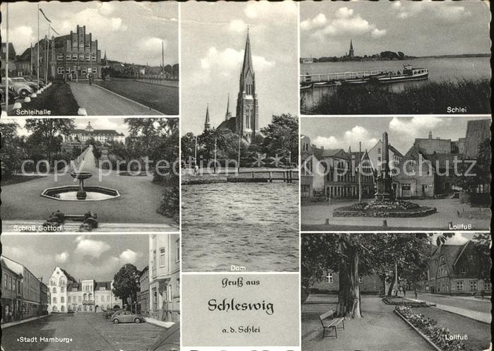 Schleswig Holstein Schleihalle Schlei Lollfuss Stadt Hamburg Schloss Gottorf / Schleswig /Schleswig-Flensburg LKR