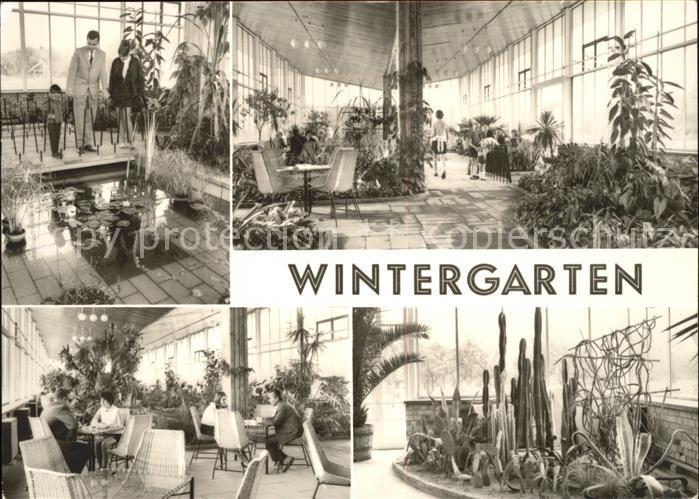Frankfurt Oder Ho Gaststaette Wintergarten Am Alten Wasserturm Kat Frankfurt Oder