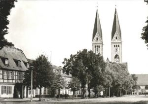 Halberstadt Domplatz Kat. Halberstadt