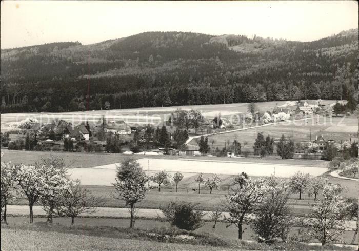 Cunewalde Halbau am Hochstein Panorama Kat. Cunewalde