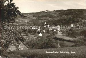 Stubenberg Steiermark Ortsblick Kat. Stubenberg am See