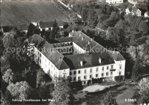 Weiz Steiermark Schloss Tannhausen Fliegeraufnahme Kat. Weiz
