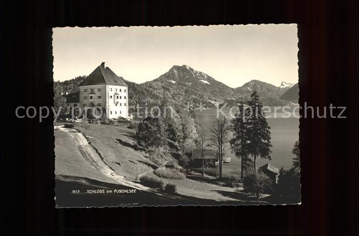 Fuschl See Salzkammergut Schloss am See Kat. Fuschl am See