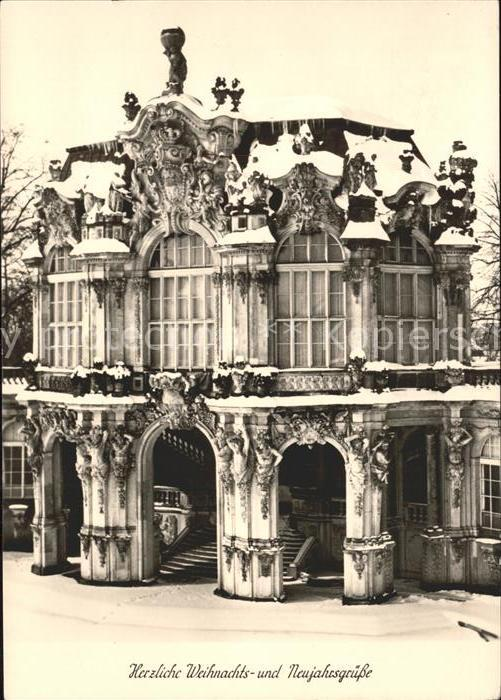 Dresden Zwinger Wallpavillon