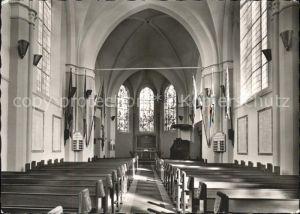 Wilhelmshaven Christuskirche Inneres Garnisonkirche Kat. Wilhelmshaven