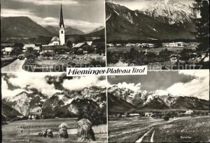 Mieming Mieminger Plateau Untermieming Obermieming Barwies Obsteig Kat. Mieming