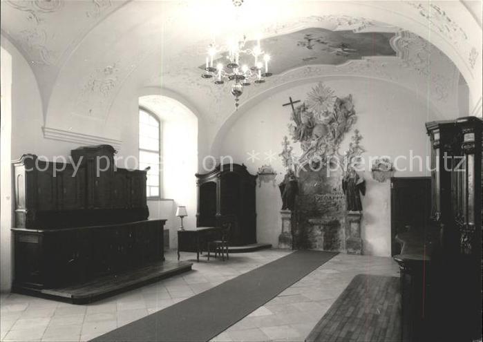 Korneuburg Augustinerkirche 18. Jhdt. Inneres Kat. Korneuburg