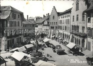 Biel Bienne Rue du Burg Kat. Biel
