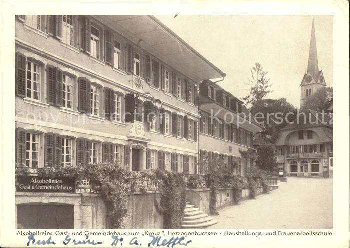 Herzogenbuchsee Gast und Gemeindehaus zum Kreuz Kat. Herzogenbuchsee