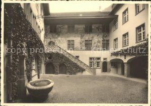 Rheinfelden AG Rathaushof Brunnen Kat. Rheinfelden