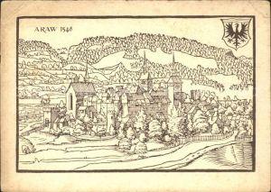 Aarau AG Araw 1548 150. Jahrfeier Kanton Aargau / Aarau /Bz. Aarau
