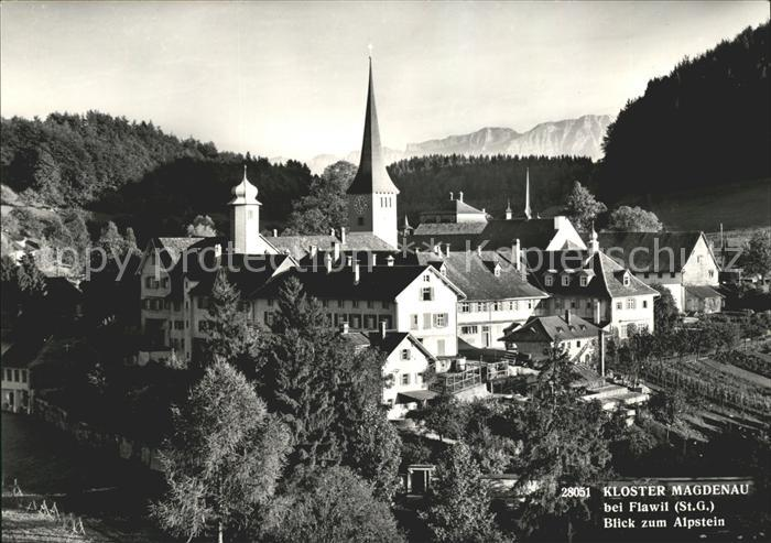 Flawil Kloster Magdenau mit Alpstein Kat. Flawil