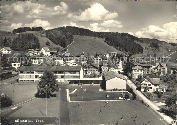 Buetschwil Teilansicht Schule Kat. Buetschwil