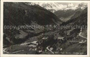 Airolo Fort Airolo Gotthardstrasse Kat. Airolo