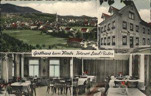 Lauf Baden Gasthaus Hirsch / Lauf /Ortenaukreis LKR