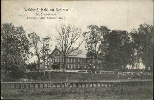 Wohldorf Hotel zur Schleuse Kat. Deutschland