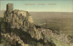 wz03986 Rappoltsweiler Haut Rhin Elsass Giersberg Ribeauville Kategorie. Ribeauville Alte Ansichtskarten