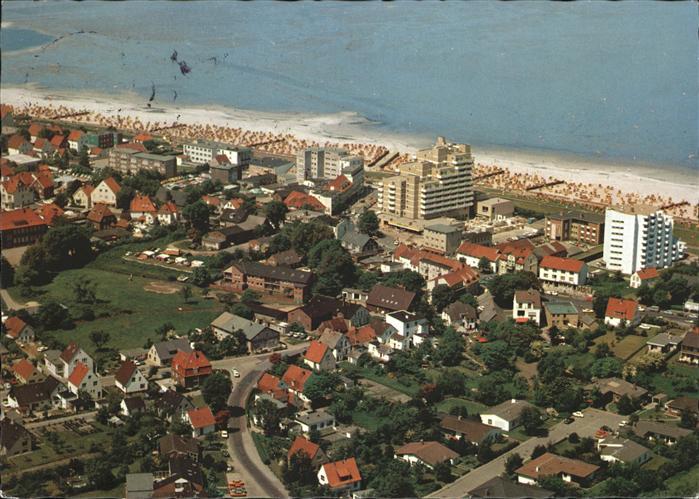 Cuxhaven Duhnen Luftbild Kat. Cuxhaven