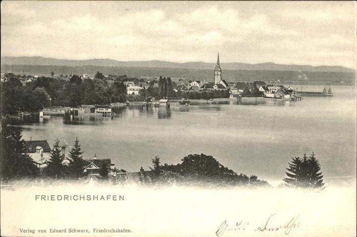 Friedrichshafen Bodensee Kat. Friedrichshafen